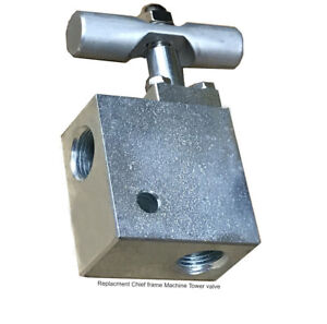 Replacement Chief Frame Machine Tower Valve 90 Elbow