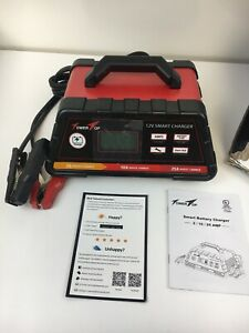 2 10 25a 12v Smart Battery Charger maintainer Fully Automatic 7 stage Charging