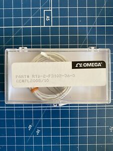 Omega Rtd 2 f3102 36 g 36 Rtd Element 3 wire New In Box