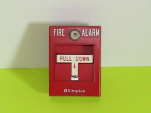 Simplex 4099 9001 Addressable Pull Station Fire Alarm Part