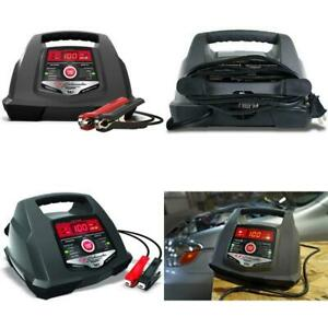 Battery Charger Engine Starter Booster Jump Tester 6 12 Volt Portable Automatic