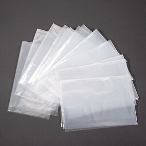 500 box Dental B Tray Clear Plastic Sleeve Cover 10 5 X 14 6boxes