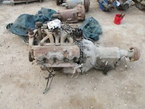 1956 Dodge Coronet 270 Poly Polysphere Engine Motor Powerflite Transmission Comp