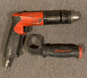 Snap On Air Pneumatic Drill Pdr5000a 1 2 Reversible Drill W Handle