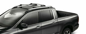 Genuine Oem Honda Ridgeline Black Cross Bars 17 20 08l04 t6z 100 Crossbars Xbars