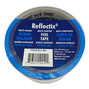 Foil Tape Reflective Insulation By Reflectix Inc 2 X 30 Multi Purpose Ft210