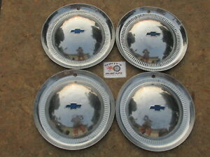 1953 Chevy Bel Air Two Ten 15 Wheel Covers Hubcaps Set Of 4