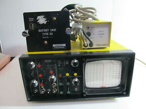 Sonatest Ufd S Ultrasonic Flaw Detector Vintage Test Lab Equipment As Is
