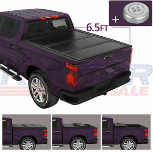 Tri Fold Pickup Hard Cover 6 5ft Truck Bed For Dodge Ram 1500 2500 3500 09 18