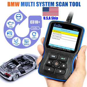 Usa Ship Creator C310 Obd2 Car Code Scanner Fit For Bmw Multi System Diagnostic