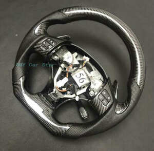 Customize 100 Real Carbon Fiber Steering Wheel For 2006 2011 Lexus Is Isf