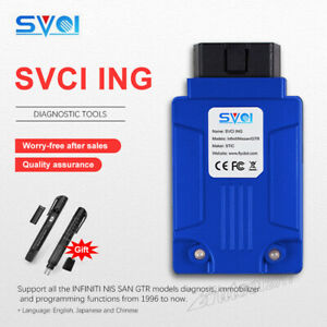 Svci Ing Automotive Programming Diagnostic Tool Scan Fit For Infiniti Nissan Gtr
