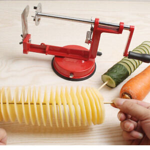 Cyclone Potato Chipper French Fries Slicer Vegetable Cutter Stainless Steel