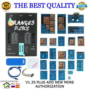 Oem Orange 5 Plus V1 34 1 35 1 36 Programmer With Full Adapter With Usb Dongle
