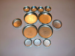 Correct Ones That Fit Buick Nailhead Steel Freeze Plugs 264 322 364 401 425