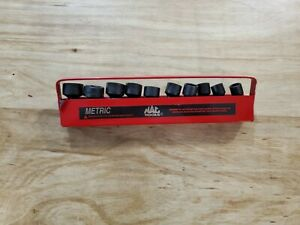 New Mac Tools 10pc 3 8 Drive Metric Impact Universal Socket Set
