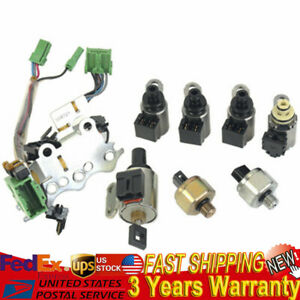 Transmission Valve Body Solenoid Kit Fit For Nissan Altima Rogue Sentra Dodge