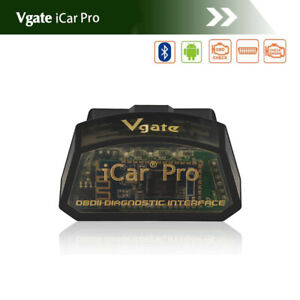 Vgate Icar Pro Bluetooth 3 0 Adapter Scanner For Bimmercode Bmw Ios Android Obd2