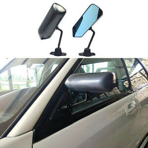 Universal F1 Style Racing Car Side Mirror Carbon Fiber Rearview Mirror