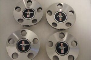 06 09 Ford Mustang Oem Factory Set Of 4 Wheel Center Caps Part 6r33 1a096 ea