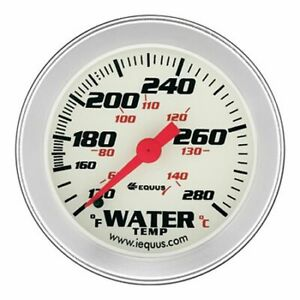 Equus 8442 Gauge Water Temperature