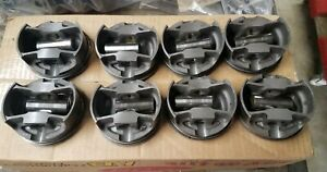 1 Set Of Forged Mahle Sbc125060116 Pistons 4 060 For 6 Rod 3 75 Stroke