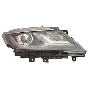 Fo2519125 New Replacement Passenger Side Headlight Lens Housing Fits 2015 Mkc