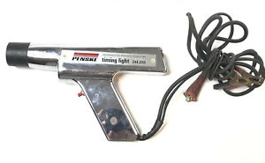 Vintage Chrome Penske Timing Light Gun Model 244 2115