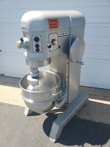 Hobart 60 Quart Mixer W Dough Hook Stainless Bowl 3 Phase 2hp Pizza Bakery