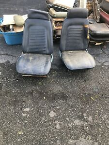 1969 Camaro Firebird Bucket Seats