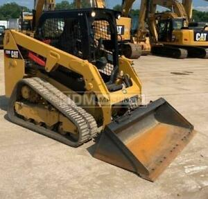 2018 Caterpillar 239d Track Skid Steer Loader Cat 239