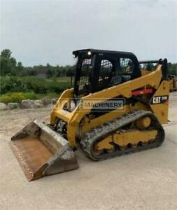 2017 Caterpillar 259d Track Skid Steer Loader Cat 259