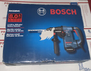 Brand New Bosch 8 Amp 1 1 8 Corded Variable Speed Sds plus Rotary Hammer Drill