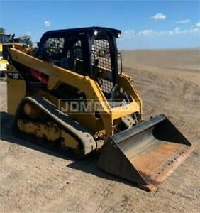2018 Caterpillar 249d Track Skid Steer Loader Cat 249