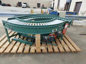 6 Roach Powered Roller Angled Conveyors Cheap