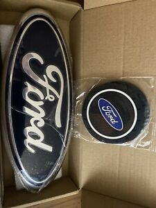 Ford Front Grill Or Tailgate Emblem Oval 9 x3 5 2004 2014 F150