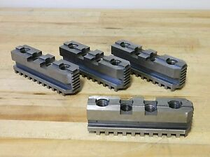 Bison Hard Master Jaws For 20 Self centering Scroll Chuck Qty 4 7 885 420