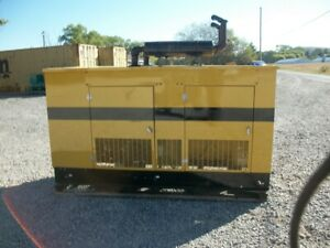 Cat Olympian Generac 45 Kva Propane Or Natural Gas Generator enclosed