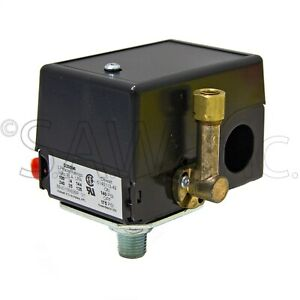 D20596 Air Compressor Replacement On Off Pressure Switch Preset To 140 175 Psi