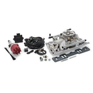 Edelbrock 357800 Pro flo 4 Efi Kit small Block Chevy vortec Heads