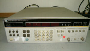 Hp 3325a Synthesizer Function Generator Tested And Working