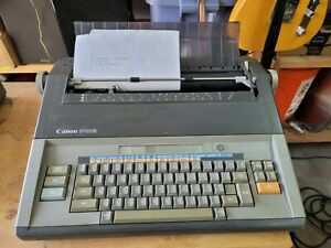Canon Electronic S68s Typewriter word Processor New Ribbon