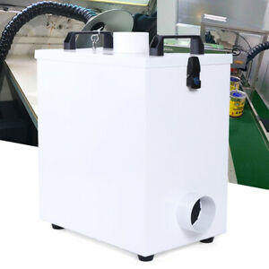 Pure Air Fume Extractor Double Hole Smoke Purifier For Cnc Laser Engraver