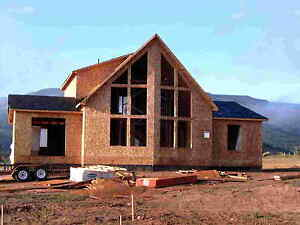 Chalet Lumber New Home House Kit 3 Bedrooms 2 Bath Ranch Prefabricated Homes