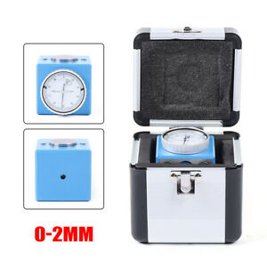 Magnetic Z Axis Tool Dial Setter 2mm 0 01mm Gage Offset Pre Setter Machine Cnc