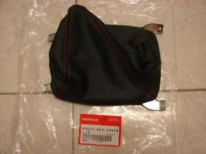 Honda Ek9 Type R Genuine Red Stitch Gear Gaitor Shift Boot Cover new