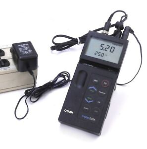 Thermo Orion Portable Ph Ph ise Meter Model 230a With Power Supply