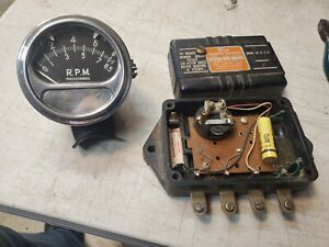 Vintage Sun Tachometer Rc 85 And Eb 9a Transmitter