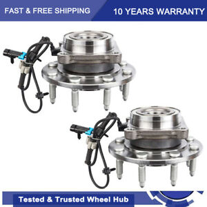 2wd Front Wheel Bearing Hub 8lug For 2001 2006 Chevy Silverado Gmc Sierra 2500hd