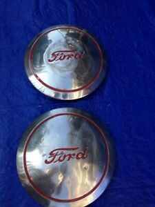 Vintage Antique Ford Truck Hub Caps